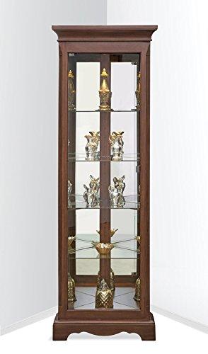 Lighthouse Hawthorne Corner Curio Cabinet