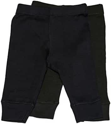 Leveret Solid Baby Crawling Pants & Legging Set (Size 3-24 Months)