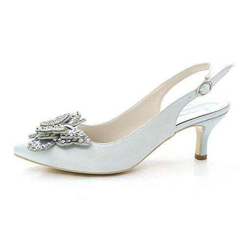 L@YC Damen High Heels / Spitzschuh mit Hochzeit / Multicolor / Large Size / Custom White