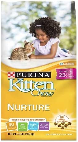 Kitten Chow Purina Nurture Cat Food 6.3 lb. Bag