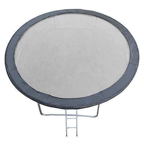 JUMP4FUN Universal Polster aus Polyethylen für Trampolin 14 FT – 427cm – Schwarz