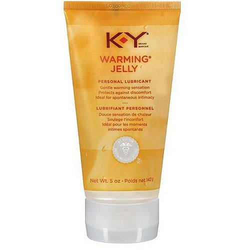 K-Y KY Jelly Warming Gelly Personal Lube Lubricant 5 oz each - LOT of 4