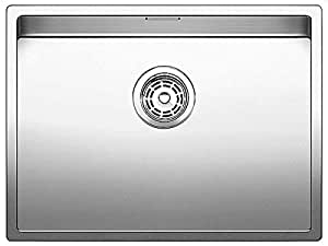 BLANCO CLARON 550-IF/N - Fregadero (Acero inoxidable, 550 x 400 mm)