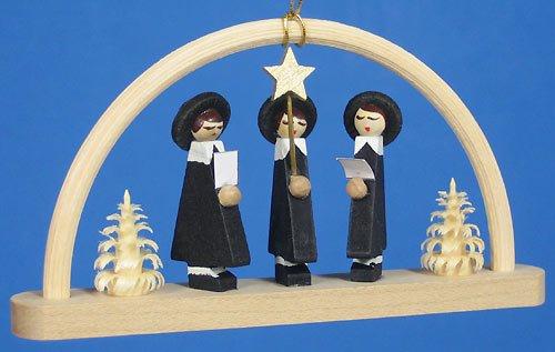 (Richard Glaesser Arch Ornament Carolers, Germany )