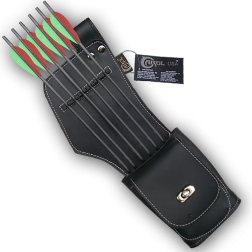 HER SIDE/HIP ARROW QUIVER SAQ142 R/H BLACK ()