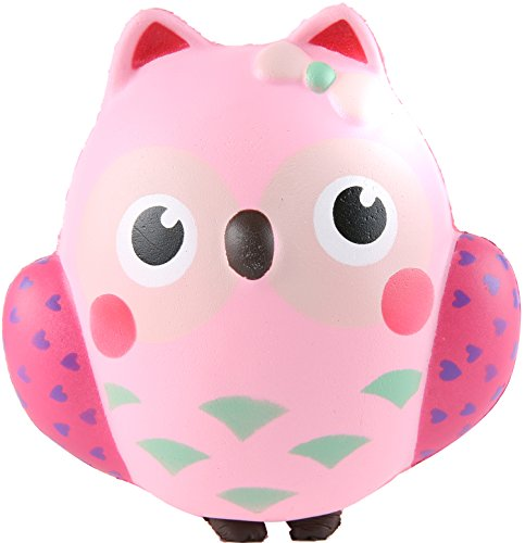 Aolige Jumbo Squishy Kawaii Cute Owl Cream Scented Squishies - Import It All