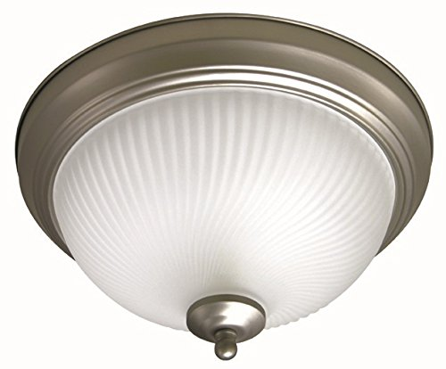 MaxLite ML2LA23LTRBNI827 23W LED Traditional Series Brushed Nickel 15 2700K Ceiling Fixture