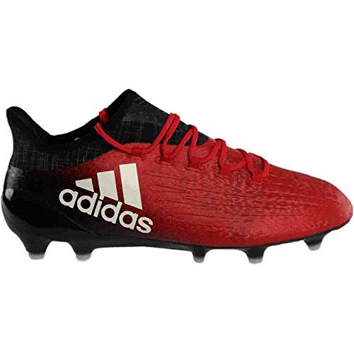 adidas X 16.1 FG Fußballschuh (Rot, Schwarz) Rot / Weiß / Kernschwarz