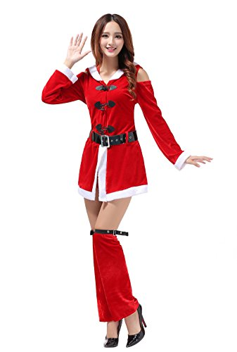 [YFFaye Women's New Christmas Party Dress Cosplay Party Costume] (Authentic Stormtrooper Costume For Sale)