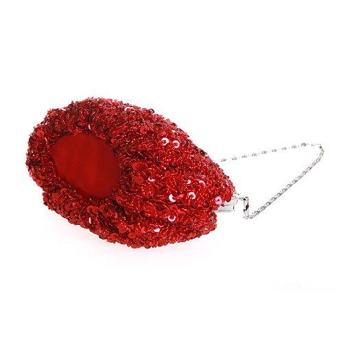 VENI MASEE®® stilvolle Quaste Bead-hand-knit Abschlussball & Party-Abend Handtasche, Handtasche, Geschenkideen - Farben verschiedene, Preis / Stück Rot