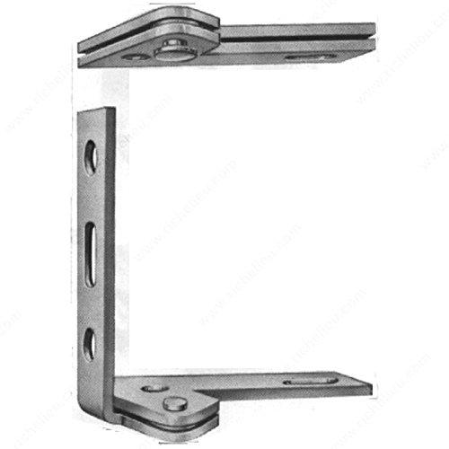 Pivot Door Hinge - Heavy Duty, Color/Finish Polished Brass, Position Left (Polished Pivot Brass)