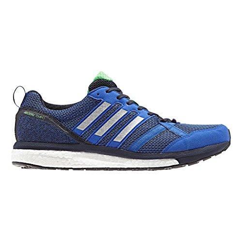adidas Men's Adizero Tempo 9 Running Shoe, hi-res Blue/Silver Metallic/Legend Ink, 11 M US