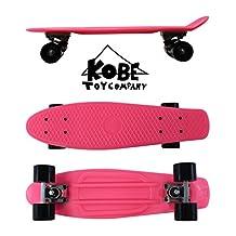Kobe 40-32004 Pink Penny Skate with Black Wheels