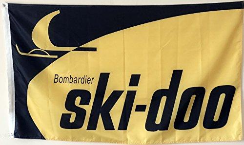 Iii Ski - 2But Ski-Doo Banner Flag 3X5 Feet
