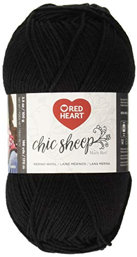Red Heart Chic Sheep Marly Bird, Stiletto Yarn,