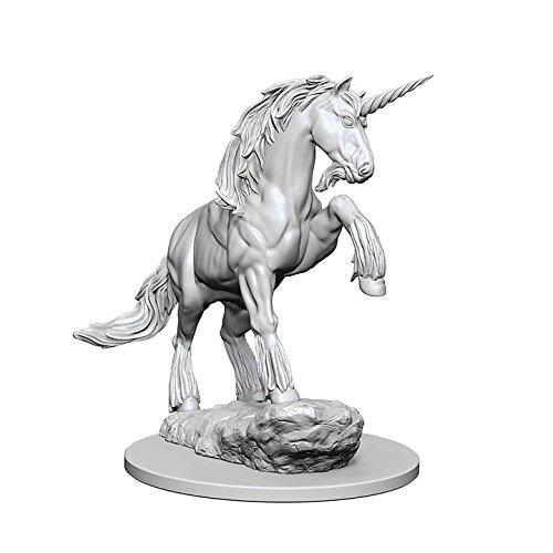 (WizKids Pathfinder: Deep Cuts Unpainted Miniatures: Unicorn)