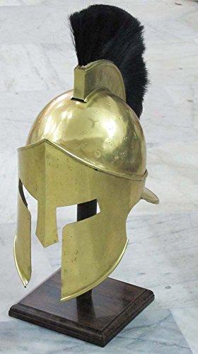300 King Leonidas Costume (MEDIEVAL ROMAN CORINTHIAN HELMET ARMOUR KING LEONIDAS GREEK SPARTAN 300 HELMET)