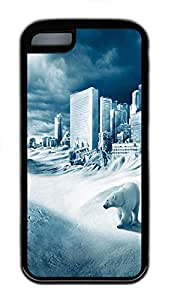 for iphone 6 plus 5.5 Case Modern Ice Age TPU Custom for iphone 6 plus 5.5 Case Cover Black