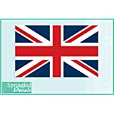 "BRITISH FLAG #1 Vinyl Decal 4"" Car Truck Window Sticker Flag of England UNION JACK"