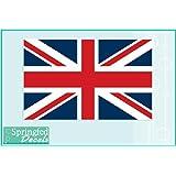 "BRITISH FLAG #1 Vinyl Decal 4"" Car Truck Window Sticker Flag of England UNION JACK"
