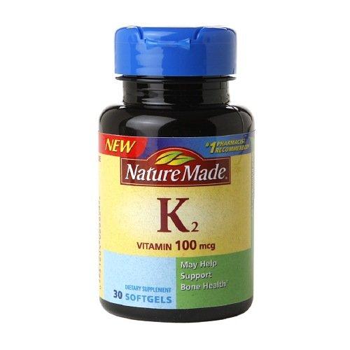 Nature Made Vitamin K2-100 mcg - 30 Softgels