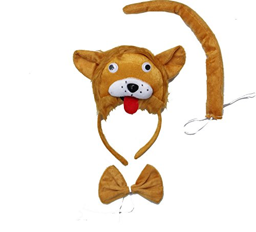 Kirei Sui Lion 3D Headband Costume Set -