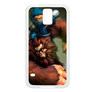Nunu-003 League of Legends LoLDiy For SamSung Note 3 Case Cover Plastic White