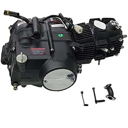 125cc 4 stroke Pit Dirt Bikes Engine Motor w/Manual Transmission Kick on