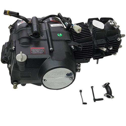 125cc 4 stroke Pit Dirt Bikes Engine Motor w/Manual Transmission Kick Start For XR50 CRF50 Z50 XR 50 70 CRF 50 Pitbike UPGRADE Taotao SSR Coolster X-Moto Roketa 50cc 70cc 110cc 125cc Dirtbikes