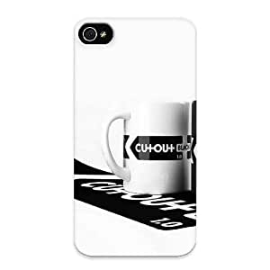 Hard Case Cover Black And White Cups Protector For Ipod Touch 5 Case Cover