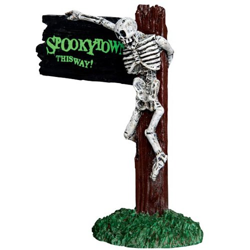 Lemax Spooky Town Spookytown This Way # 44743 -