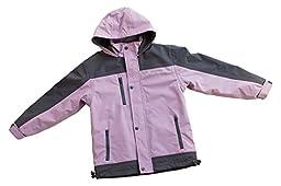 Children\'s Trail Fleece Lined Jacket by Oakiwear | Lavender 4/5