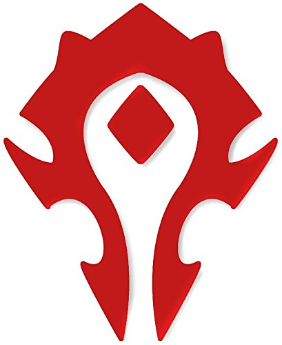 World of Warcraft Horde Cutout Sticker