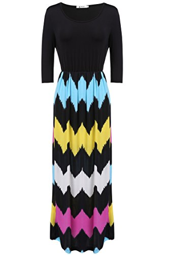 ANGVNS Womens Fashion Homecoming Striped