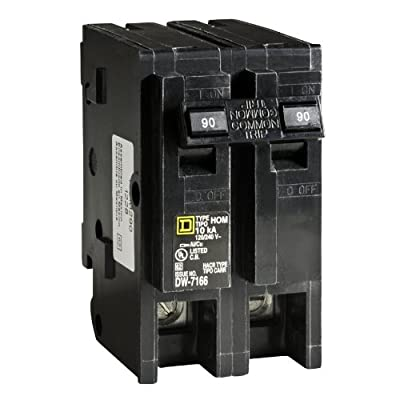 Square D by Schneider Electric HOM290CP Homeline 90-Amp Two-Pole Circuit Breaker