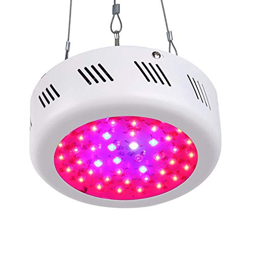 Roleadro UFO LED Grow Light 138W 9 Band Spectrum...