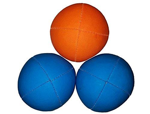 Juggle Dream UV Smoothie Juggling Balls (3 Blue/Orange)