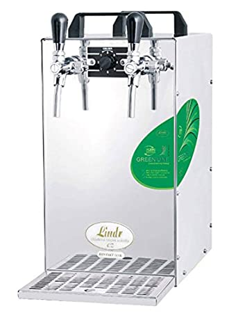 Contacto 115/R Green Line – Dispensador de cerveza de 2 para preparar enkühl dispositivo