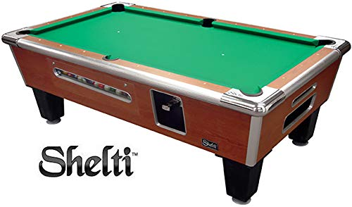 Shelti Bayside Pool Table Soveriegn Cherry - 88