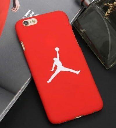 Coque iPhone 6 /6S Basketball Joueur de basket Rouge Logo blanc 23 ...