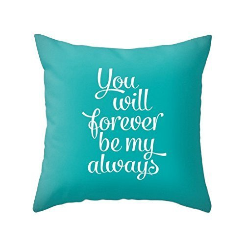 You will forever be my always pillowcase Valentines pillow cover valentines cushion Valentine gift love cushion valentine pillow love pillow love gift - Chanel Kids Bag