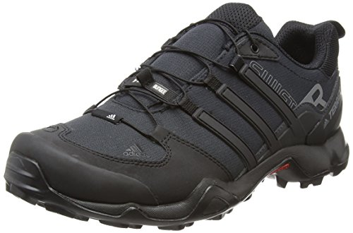 adidas Terrex Swift R, Zapatos de Senderismo Hombre Negro (Core Black/core Black/dark Grey)