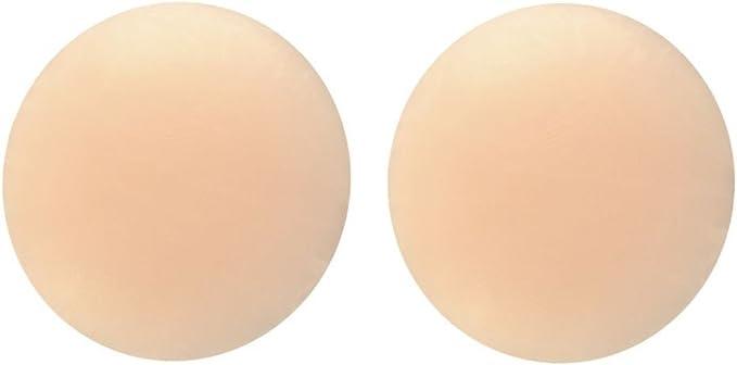 Silikon NippelCover ca 6,5cm  mit Muster Brustwarzenabdeckung selbstklebend