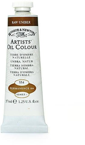 Winsor Newton Artists Oil Colors (Winsor & Newton Artists' Oil Colours (Raw Umber) 1 pcs sku# 1874775MA)