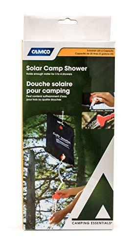 Camco White 51368 Solar Camp Shower