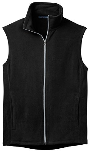 Port Authority Microfleece Vest 4XL Black