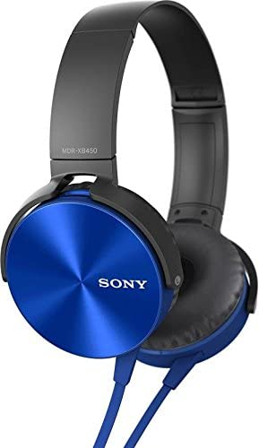 Sony MDR-XB450 Extra Bass Smartphone Heatset Blue