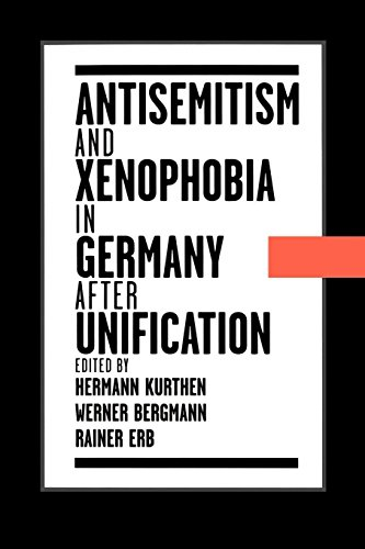 Antisemitism and Xenophobia in Germany after Unification (Oxford Studies in Comparative Syntax (Paperback))