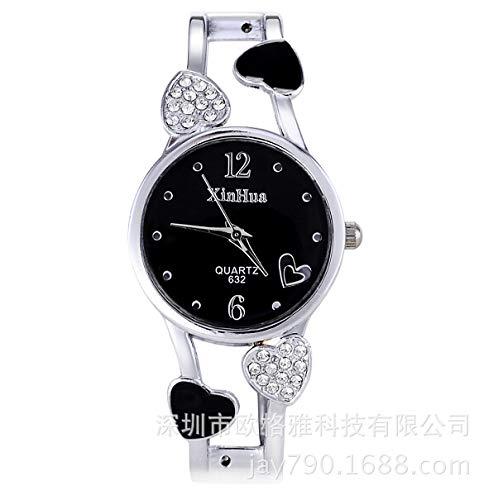 SJXIN Reloj Elegante 2017 Reloj xinhua señoras Reloj Pulsera Navidad Relojes de Moda (Color :