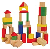 Small World Toys Ryan's Room Wooden Toys  -Bag O' Blocks, Natural Color